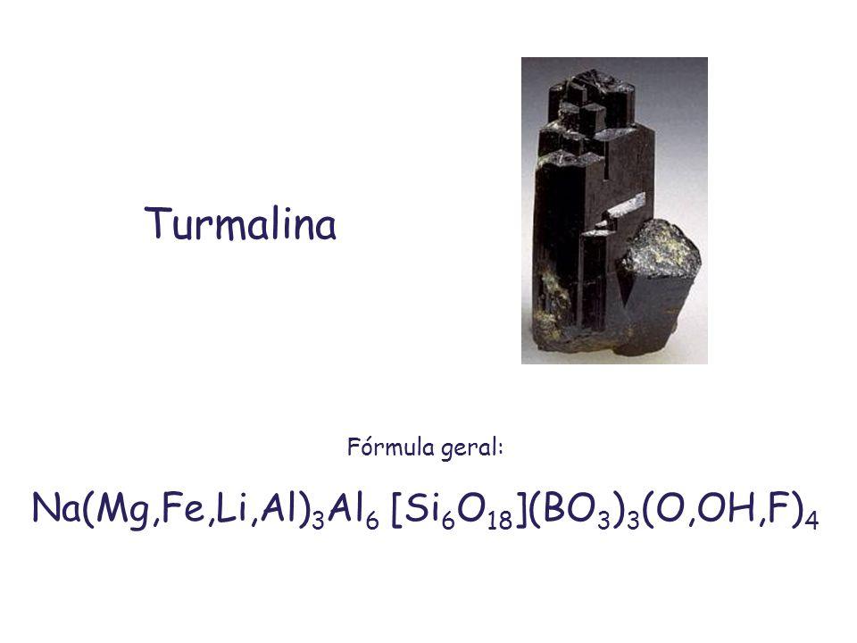Na(Mg,Fe,Li,Al)3Al6 [Si6O18](BO3)3(O,OH,F)4